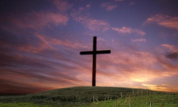 Cross on a Hill (cropped)